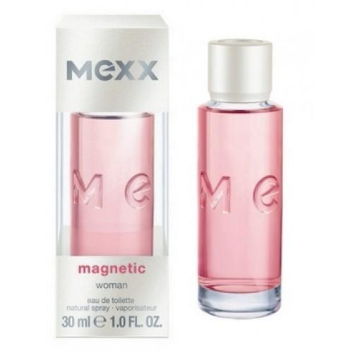 Mexx Magnetic Woman, Toaletní voda, 30ml, Dámská vůně, + AKCE: dárek zdarma
