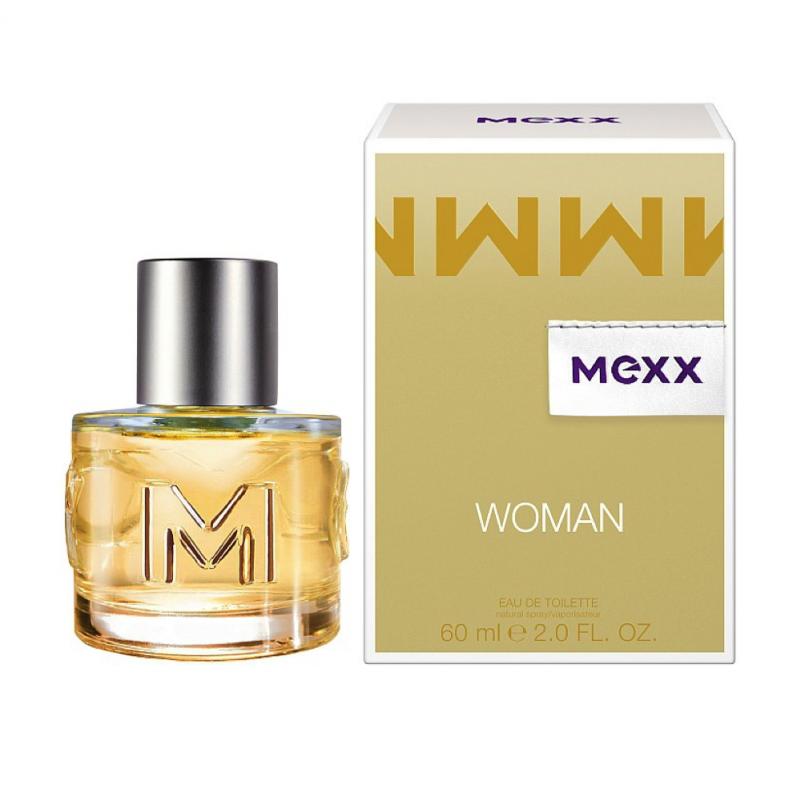 Mexx Mexx Woman, Toaletní voda, 60ml, Dámska vôňa, + AKCE: dárek zdarma