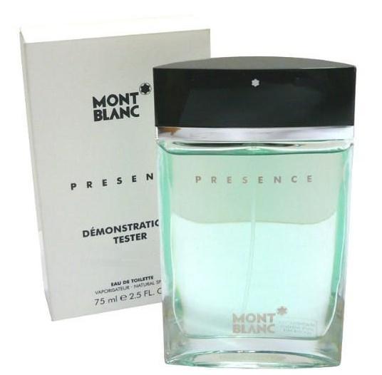 Mont Blanc Presence Man, Toaletní voda - Tester, 75ml, Pánska vôňa, + AKCE: dárek zdarma
