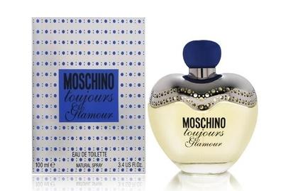 Moschino Toujours Glamour, Toaletní voda, 100ml, Dámska vůně, + AKCE: dárek zdarma