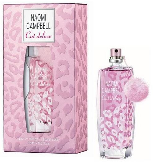 Naomi Campbell Cat Deluxe, Toaletní voda, 15ml, Dámska vôňa, + AKCE: dárek zdarma