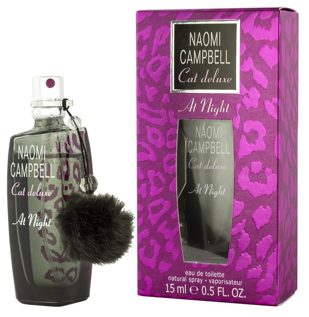 Naomi Campbell Cat Deluxe At Night, Toaletní voda, 15ml, Dámska vůně, + AKCE: dárek zdarma