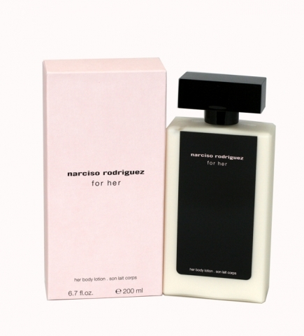 Narciso Rodriguez Narciso Rodriguez for Her, Tělové mléko, 200ml, Dámska vôňa, + AKCE: dárek zdarma