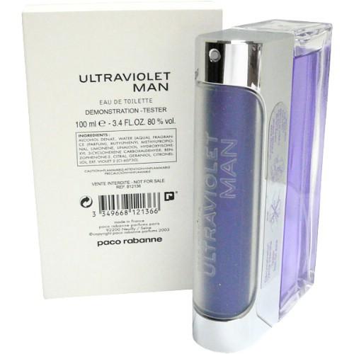Paco Rabanne Ultraviolet Man, Toaletní voda - Tester, 100ml, Pánska vôňa, + AKCE: dárek zdarma