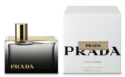 Prada L´Eau Ambrée, Parfémovaná voda, 50ml, Dámska vôňa, + AKCE: dárek zdarma