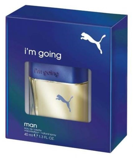 Puma I´m Going Man, Toaletní voda, 40ml, Pánska vôňa, + AKCE: dárek zdarma