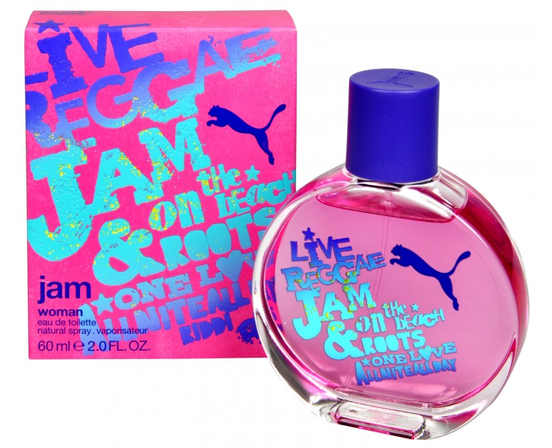 Puma Jam Woman, Toaletní voda, 60ml, Dámska vôňa, + AKCE: dárek zdarma