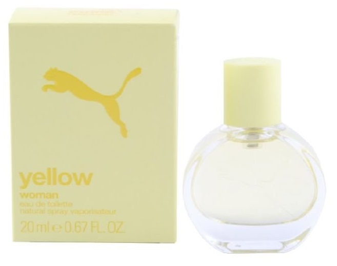 Puma Yellow Woman, Toaletní voda, 20ml, Dámská vůně, + AKCE: dárek zdarma