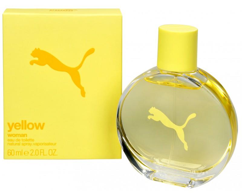 Puma Yellow Woman, Toaletní voda, 60ml, Dámská vůně, + AKCE: dárek zdarma