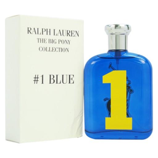 Ralph Lauren Big Pony 1 Blue Man, Toaletní voda - Tester, 125ml, Pánska vôňa, + AKCE: dárek zdarma