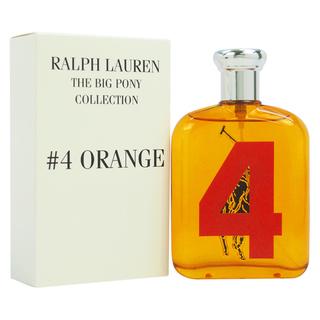 Ralph Lauren Big Pony 4 Orange Man, Toaletní voda - Tester, 125ml, Pánska vôňa, + AKCE: dárek zdarma