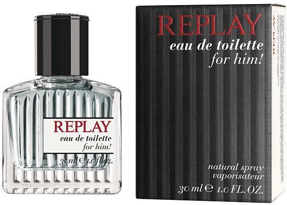 Replay Replay for Him, Toaletní voda, 30ml, Pánska vôňa, + AKCE: dárek zdarma