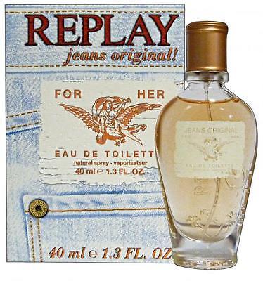 Replay Jeans Original for Her, Toaletní voda, 40ml, Dámská vůně, + AKCE: dárek zdarma