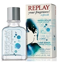 Replay Your Fragrance Refresh Men, Kolínská voda, 50ml, Pánska vôňa, + AKCE: dárek zdarma