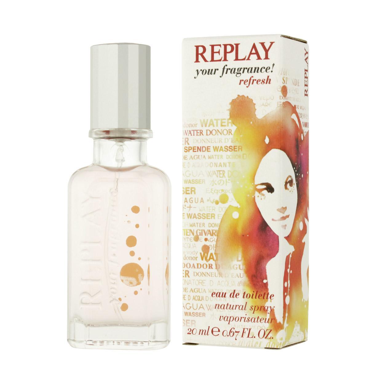 Replay Your Fragrance Refresh Woman, Toaletní voda, 20ml, Dámská vůně, + AKCE: dárek zdarma