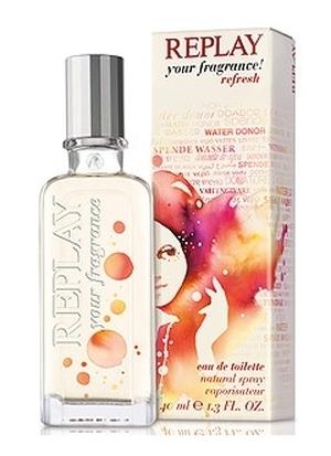 Replay Your Fragrance Refresh Woman, Toaletní voda, 40ml, Dámska vôňa, + AKCE: dárek zdarma