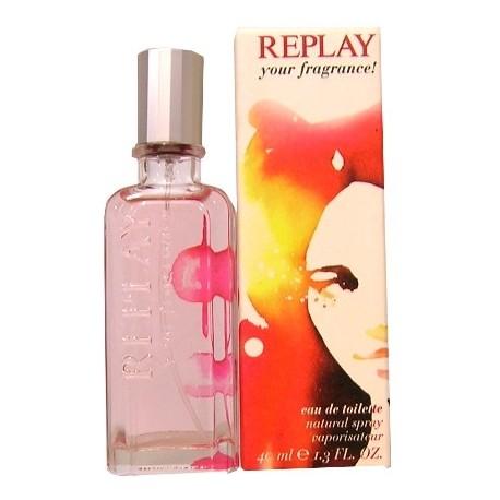 Replay Your Fragrance! for Her, Toaletní voda, 40ml, Dámska vôňa, + AKCE: dárek zdarma