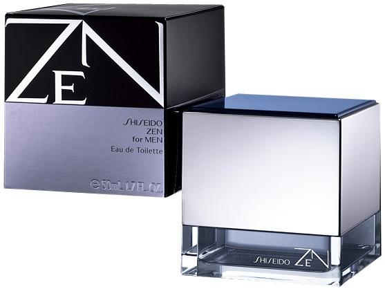 Shiseido Zen for Men, Toaletní voda, 50ml, Pánska vôňa, + AKCE: dárek zdarma