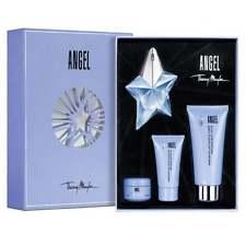 Thierry Mugler Angel, Dárková sada, parfémovaná voda 25ml + tělové mléko 100ml + sprchový gel 30ml + tělový krém 10ml plnitelný, Dámska vôňa
