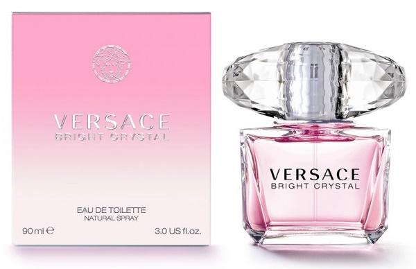 Versace Bright Crystal, Toaletní voda, 90ml, Dámska vôňa, + AKCE: dárek zdarma