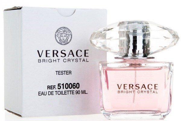 Versace Bright Crystal, Toaletní voda - Tester, 90ml, Dámska vôňa, + AKCE: dárek zdarma