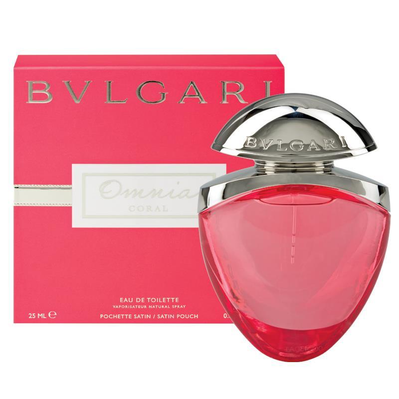 Bvlgari Omnia Coral, Toaletní voda, 25ml, Dámska vôňa, + AKCE: dárek zdarma
