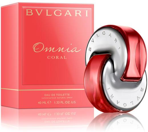 Bvlgari Omnia Coral, Toaletní voda, 40ml, Dámska vôňa, + AKCE: dárek zdarma
