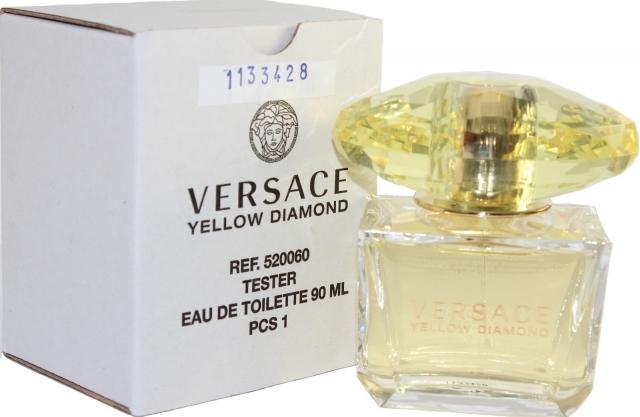 Versace Yellow Diamond, Toaletní voda - Tester, 90ml, Dámska vôňa, + AKCE: dárek zdarma