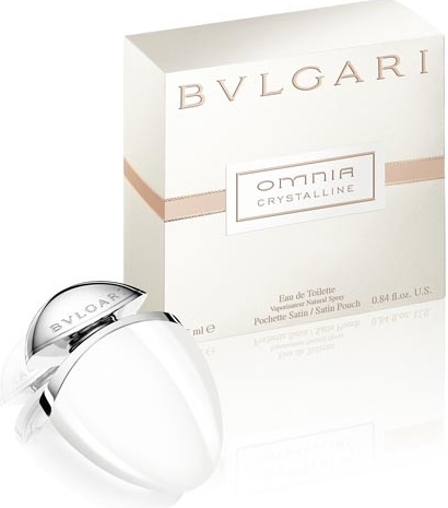 Bvlgari Omnia Crystalline, Toaletní voda, 25ml, Dámska vôňa, + AKCE: dárek zdarma