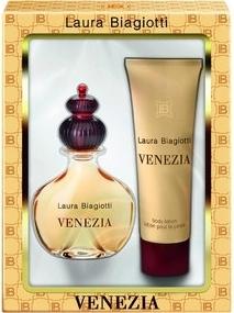Laura Biagiotti Venezia, Dárková sada, parfémovaná voda 25ml + tělové mléko 50ml, Dámska vôňa, + AKCE: dárek zdarma
