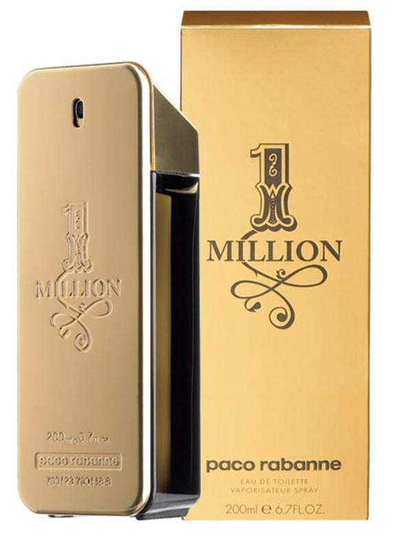 Paco Rabanne 1 Million, Toaletní voda, 200ml, Pánská vůně, + AKCE: dárek zdarma