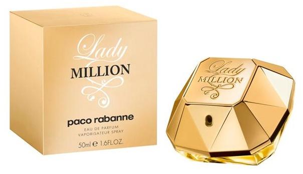 Paco Rabanne Lady Million, Parfémovaná voda, 50ml, Dámska vôňa, + AKCE: dárek zdarma