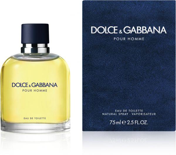 Dolce & Gabbana pour Homme, Toaletní voda, 75ml, Pánska vôňa, + AKCE: dárek zdarma