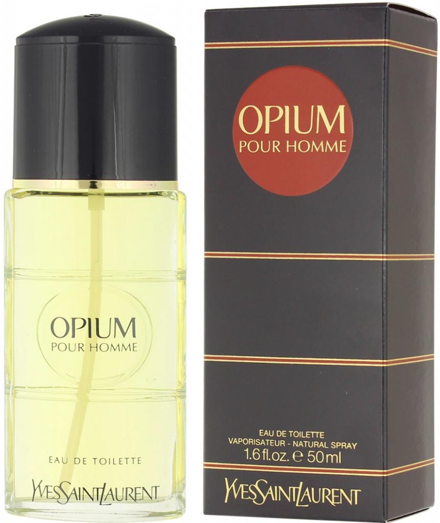 Yves Saint Laurent Opium pour Homme, Toaletní voda, 50ml, Pánska vôňa, + AKCE: dárek zdarma