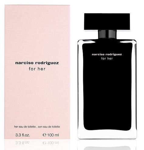 Narciso Rodriguez Narciso Rodriguez for Her, Toaletní voda, 100ml, Dámska vôňa, + AKCE: dárek zdarma