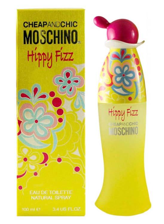 Moschino Hippy Fizz, Toaletní voda, 100ml, Dámska vôňa, + AKCE: dárek zdarma