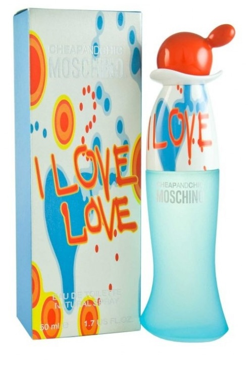Moschino I Love Love, Toaletní voda, 50ml, Dámska vôňa, + AKCE: dárek zdarma