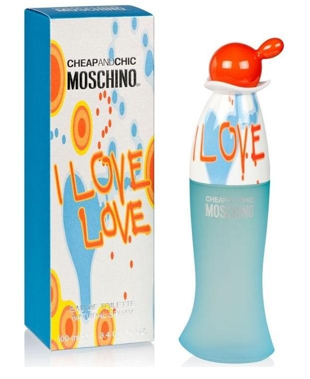Moschino I Love Love, Toaletní voda, 100ml, Dámska vôňa, + AKCE: dárek zdarma