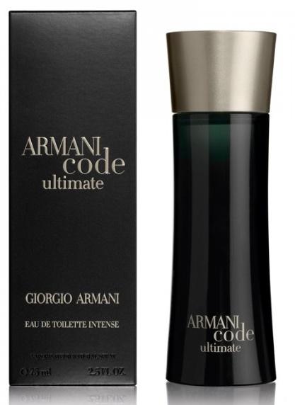 Giorgio Armani Code Ultimate, Toaletní voda, 75ml, Pánska vôňa, + AKCE: dárek zdarma