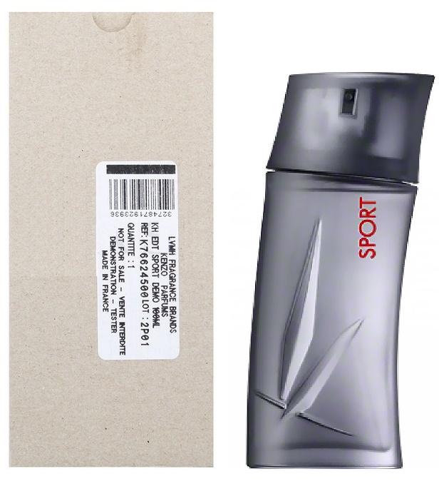 Kenzo Homme Sport, Toaletní voda - Tester, 100ml, Pánska vôňa, + AKCE: dárek zdarma