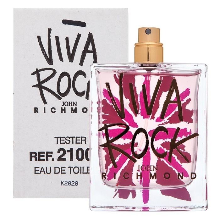 John Richmond Viva Rock, Toaletní voda - Tester, 100ml, Dámska vôňa, + AKCE: dárek zdarma