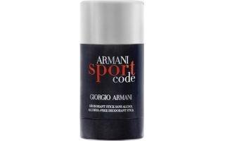 Giorgio Armani Code Sport, Deostick, 75ml, Pánska vôňa, + AKCE: dárek zdarma