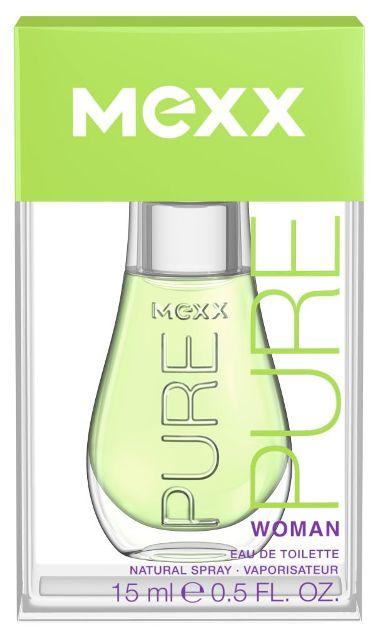 Mexx Pure for Women, Toaletní voda, 15ml, Dámska vôňa, + AKCE: dárek zdarma
