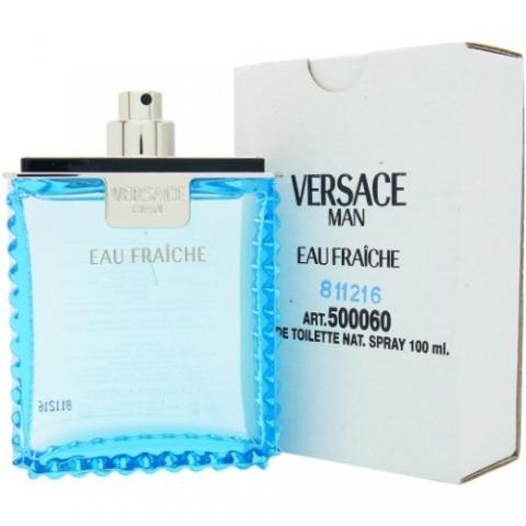 Versace Man Eau Fraiche, Toaletní voda - Tester, 100ml, Pánska vôňa, + AKCE: dárek zdarma