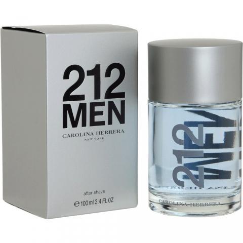 Carolina Herrera 212 Men, Voda po holení, 100ml, Pánska vôňa, + AKCE: dárek zdarma