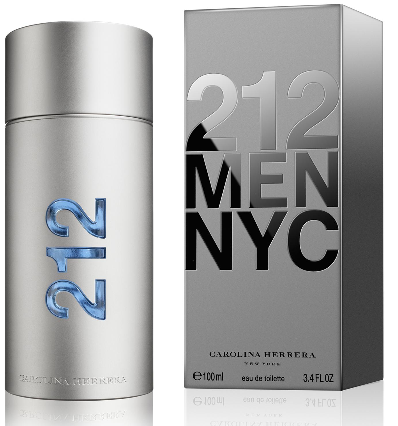 Carolina Herrera 212 Men, Toaletní voda, 100ml, Pánska vôňa, + AKCE: dárek zdarma