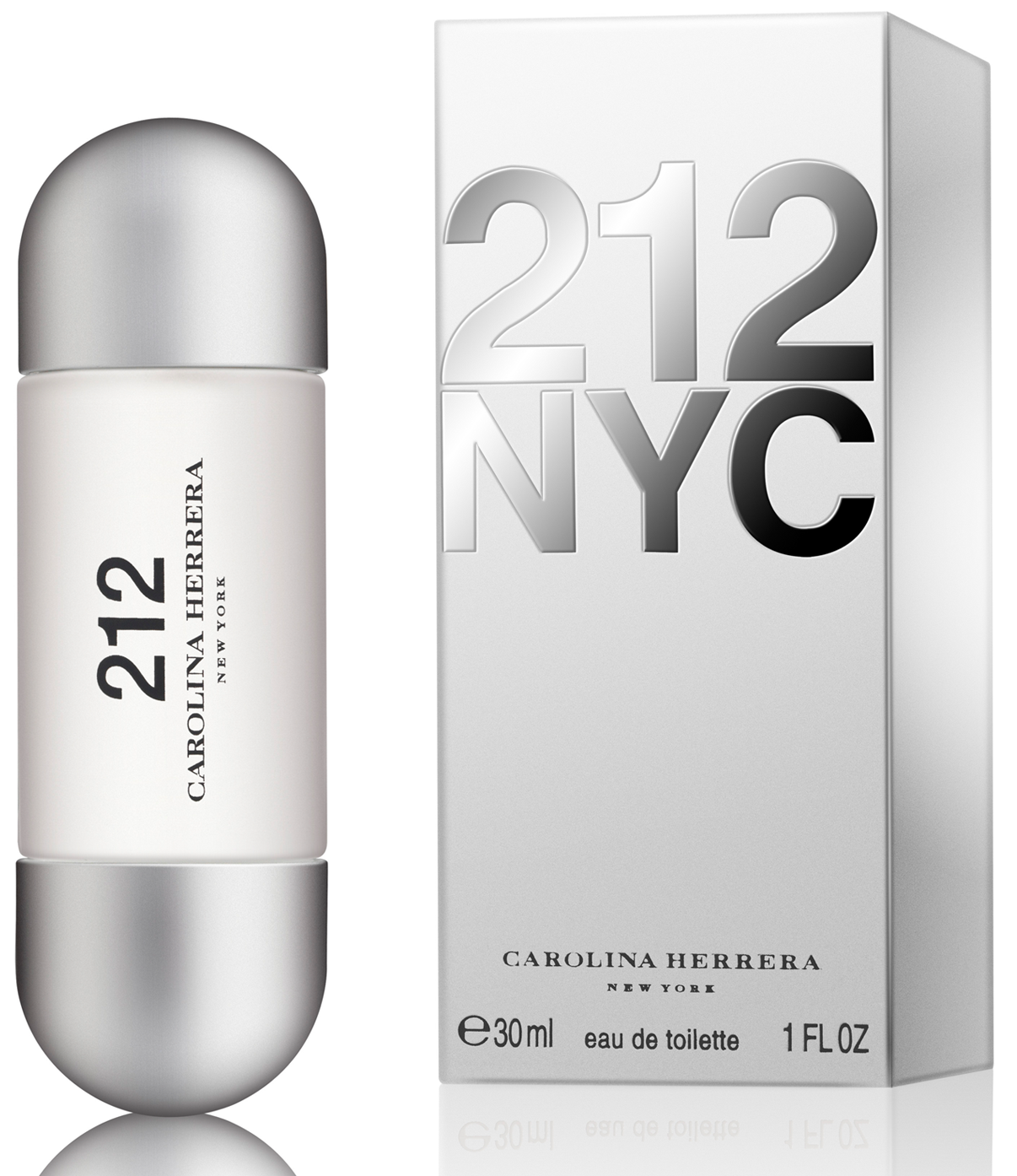 Carolina Herrera 212 Woman, Toaletní voda, 30ml, Dámska vôňa, + AKCE: dárek zdarma