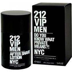 Carolina Herrera 212 VIP Men, Voda po holení, 100ml, Pánska vôňa, + AKCE: dárek zdarma