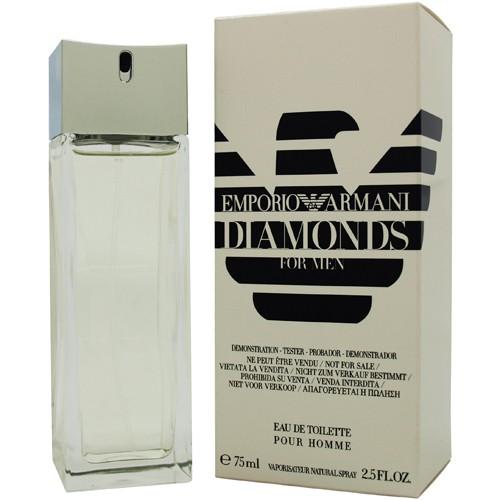 Giorgio Armani Diamonds for Men, Toaletní voda - Tester, 75ml, Pánska vôňa, + AKCE: dárek zdarma