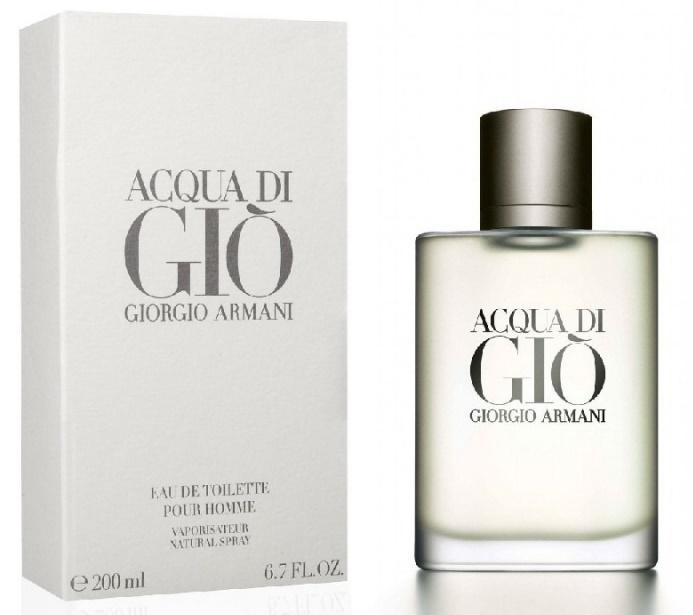 Giorgio Armani Acqua di Gio pour Homme, Toaletní voda, 200ml, Pánska vôňa, + AKCE: dárek zdarma